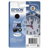 Epson 27XL Inkjet Cartridge Alarm Clock High Yield Page Life 1100pp 17.7ml Black Ref C13T27114012