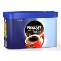 Nescafe Original Decaffeinated Coffee 500g Tin Ref 12315569