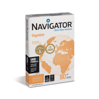Navigator Organizer Paper Multifunctional Ream-Wrapped 80gsm A4 2-Hole Punched Ref 127562 [500 Sheets]