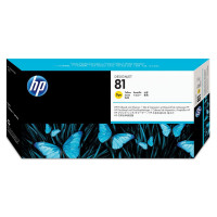 Hewlett Packard [HP] No.81 Printhead & Printhead Cleaner Yellow Ref C4953A *3to5 Day Leadtime*