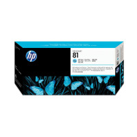 HP 81 Light Cyan Printhead & Printhead Cleaner for 5000 & 5000PS Ref C4954A *3 to 5 Day Leadtime*