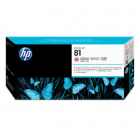 Hewlett Packard [HP] No.81 Printhead & Printhead Cleaner Light Magenta Ref C4955A *3to5 Day Leadtime*