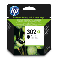 Hewlett Packard [HP] No.302XL Ink Cartridge High Yield 8.5ml Page Life 480pp Black Ref F6U68AE
