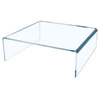 Acrylic Riser Small High Quality Acrylic W100xD100xH50mm Clear [Pack 3]