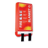 Fire Blanket Woven Glass Fibre 1100x1100mm Ref WG30401