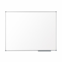 Nobo Classic Enamel Eco Whiteboard Magnetic Fixings Included W600xH450mm White Ref 1905234