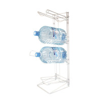 Water Bottle Storage Rack for Four Bottles WxDxH: 310x467x1063mm