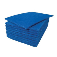 Scouring Pad Blue 9x6in [Pack 20]
