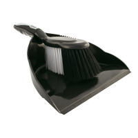 Bentley Dustpan and Brush Set Black and Chrome Ref HL8001/G [SET]
