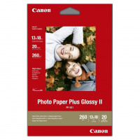 Canon PP201 Photo Inkjet Paper Glossy II 265gsm 130 x 180mm Ref 2311B018AA [20 Sheets]