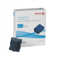 Xerox Solid Ink Sticks Page Life 17300pp Cyan Ref 108R00954 [Pack 6]