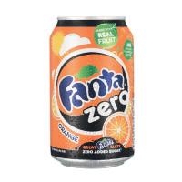 Fanta Zero Orange Soft Drink Can 330ml Ref 0402039 [Pack 24]