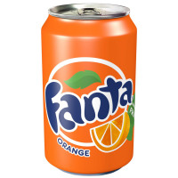 Fanta Orange Soft Drink Can 330ml Ref N001529 [Pack 24]