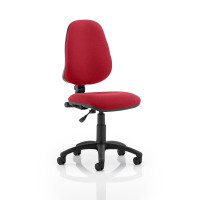 Trexus 1 Lever High Back Permanent Contact Chair Red 480x450x460-580mm Ref OP000161