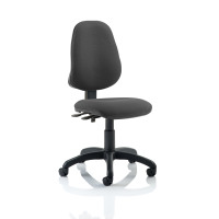 Trexus 2 Lever High Back Permanent Contact Operators Chair Charcoal 480x450x490-590mm Ref OP000026