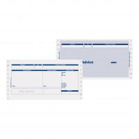 Pegasus Compatible Secure Pay Advice 3 Part W241xH127mm Ref PS43 [Box 1000]