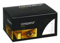 Conqueror Envelopes Wallet Peel and Seal Laid Vellum DL Ref CDE01453VE [Pack 500]