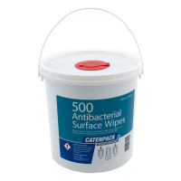 Robinson Young Caterpack Wipes Antibacterial Disinfectant 200x230mm Ref 3898 [Pack 500]