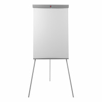 5 Star Office Flipchart Easel with W670xH990mm Board W700xD82xH1900mm Grey Trim
