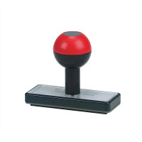 5 Star Office Low Cost Rubber Stamp Custom W75xH25mm [6 lines]