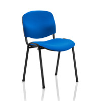Trexus Stacking Chair Black Frame Blue 470x420x500mm Ref T0477A010