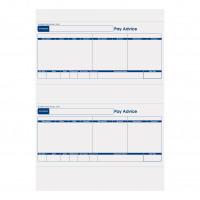 Sage Compatible Pay Advice Laser or Inkjet A4 Sheet 210x102mm Slip Ref SE95 [500 Forms/1000 Payslips]