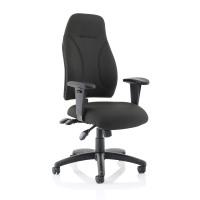 Trexus Posture High Back Asynchronous Chair Black 500x500x420-530mm Ref SP413845