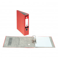 5 Star Office Lever Arch File 70mm A4 Red [Pack 10]