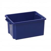 Strata Storemaster Maxi Crate External W470xD340xH240mm 32 Litres Blue Ref HW46