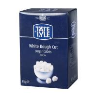 Tate and Lyle White Sugar Cubes Rough-cut 1 Kg Ref 412090