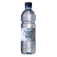 Abbey Well Natural Mineral Water Bottle Plastic Still 500ml Ref A03086 [Pack 24]