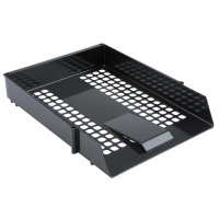5 Star Value Letter Tray Black