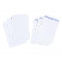 5 Star Value Envelope C4 Pocket Self Seal 90gsm White [Pack 250]