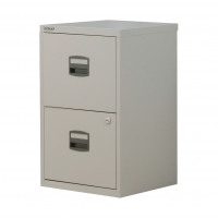 Trexus A4 2 Drawer Cabinet Grey 413x400x672mm Ref 677876