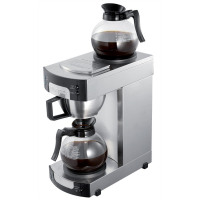 Burco Filter Coffee Maker with2 Individually switched Hot Plates and 2 x 1.7 Litre jugs Ref BR7000