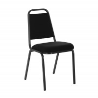 Trexus Banquet Chair Black/Black Frame 390x355x485mm Ref 749295