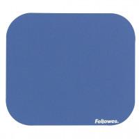 Fellowes Mousepad Solid Colour Blue Ref 58021-06