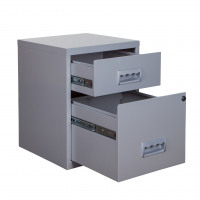 Combi Filing Cab 2 Drawers A4 400x400x530mm Ref 595026
