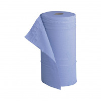 5 Star Facilities Hygiene Roll 10 Inch Width 100 per cent recycled 2-ply 130 Sheets W250xL457mm 40m Blue