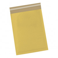 5 Star Office Bubble Bags Peel and Seal Size 0 Gold 140x195mm [Pack 100]