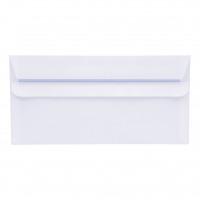 5 Star Office Envelopes DL Wallet Self Seal 90gsm White [Pack 1000]