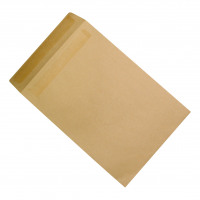 5 Star Office Envelopes C4 Pocket Self Seal 90gsm Manilla [Pack 250]