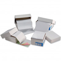 5 Star Office Listing Paper 1-Part 70gsm 11inchx368mm Plain [2000 Sheets]