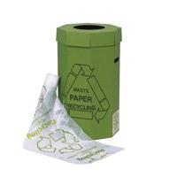 Acorn Green Cardboard Recycling Bin 60 Litre (Pack of 5) 402565