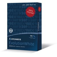 Steinbeis Evolution Copier Paper A4 80gsm100% Recycled White Box 2500 Sheets