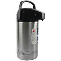 Addis Chrome President Pump Pot Vacuum Jug 3 Litre 517465