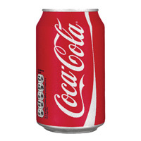 Coca-Cola Soft Drink 330ml Can 402002 (Pack of 24)