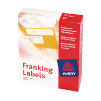Avery Franking Label Double All Machines White FL01 (Pack of 1000)