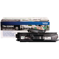 Brother TN326BK Black Toner Cartridge High Capacity TN-326BK