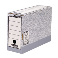Fellowes Bankers Box Grey Foolscap Transfer File 120mm 01805